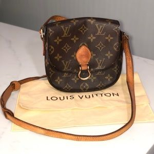 Authenticated Louis Vuitton St Cloud crossbody